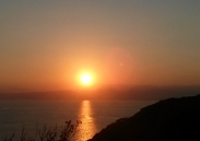 enoshima sunset